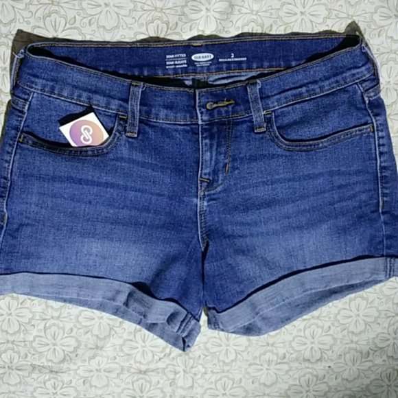 ON cuffed denim shorts 2